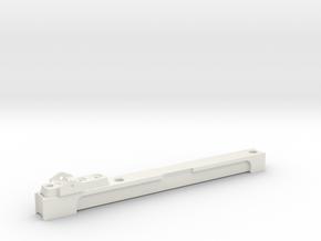 Scope Rail ROTJ E-11  in White Natural Versatile Plastic
