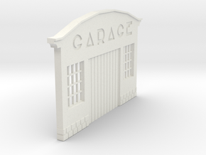 Z-1-87-garage-1 in White Natural Versatile Plastic