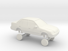 HO Scale 2006-2009 Changan Suzuki Lingyang (Swift) in White Natural Versatile Plastic