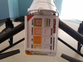 Hazmat Probe (Adhesive mount) in White Natural Versatile Plastic
