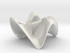 Maurer Rose 3D  #4 in White Natural Versatile Plastic
