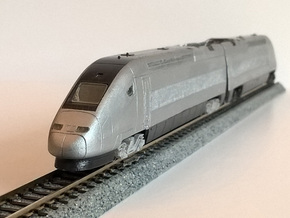 N.03A - Part A - SNCF TGV Duplex Motrice - N Sca in Smooth Fine Detail Plastic