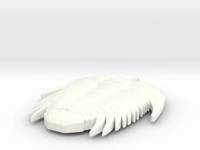 Trilobite Necklaces in White Processed Versatile Plastic