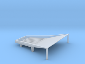 Cone Shake Tray 3t in Smooth Fine Detail Plastic