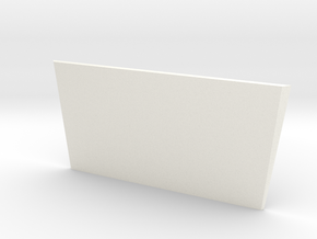 High Bonnet New Model D90 D110 Gelande 1/2 in White Processed Versatile Plastic