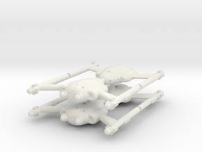Invader Cutter 4 Sprue in White Natural Versatile Plastic