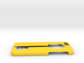 Apple iphone case in Yellow Processed Versatile Plastic