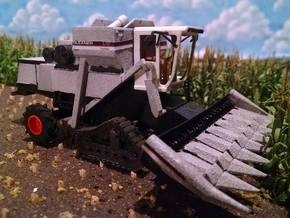18 INCH 1/64 Combine Track Set in White Strong & Flexible