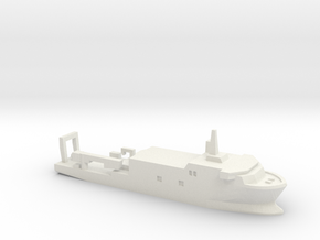 USSP Auxiliary Ship, 1/2400 in White Natural Versatile Plastic