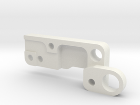 Trigger Plate/cover for polarstar v2 fe  in White Strong & Flexible