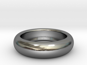 custom made  request Plain Ring size11 20.2mm in Polished Silver