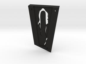 ABR Truss Rod Cover in Black Natural Versatile Plastic