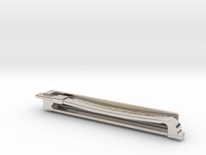 Violin Bow Tiepin in Platinum