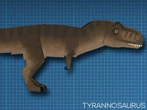[JurassiCraft] Tyrannosaurus (Female) in Full Color Sandstone