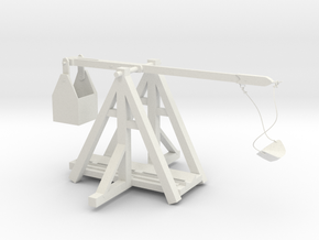 trebuchet in White Natural Versatile Plastic