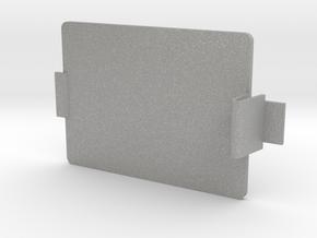 MIDI Sprout Battery Door 001 (snap) in Aluminum