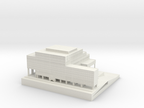 House of the KVH in White Natural Versatile Plastic