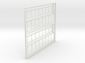 Ladders for TJ Weber Woodchip car in White Natural Versatile Plastic
