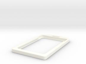 CoolBadge in White Processed Versatile Plastic