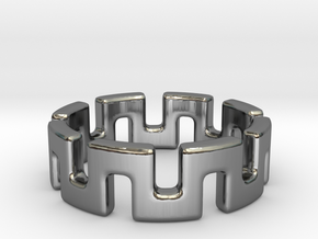 Meander in Premium Silver