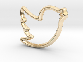Tweep Charm - 11mm in 14K Gold