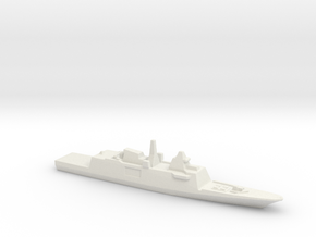 Aquitaine class FFG, 1/3000 in White Strong & Flexible