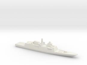 Aquitaine class FFG, 1/3000 in White Natural Versatile Plastic