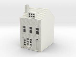 RHS-3 N Scale Rye High Street building 1:148 in White Natural Versatile Plastic