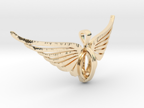 Freedom pendant in 14K Yellow Gold