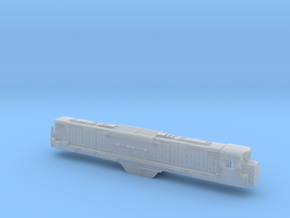 N Scale Alco C-855 Locomotive Shell Only-No Parts in Smooth Fine Detail Plastic
