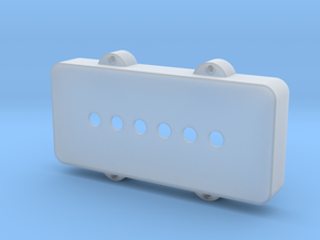 Jazzmaster Pickup Cover - Standard in Smooth Fine Detail Plastic