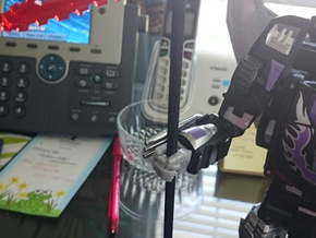 DX9 Terror Scythe Handle in Black Strong & Flexible