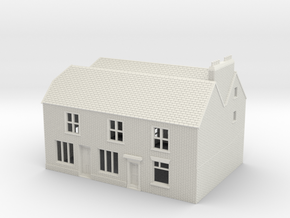 RHS-2 N Scale Rye High Street building 1:148 in White Natural Versatile Plastic