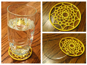 "3-1/4"" Coaster 6 (Insert) in Yellow Strong & Flexible Polished"