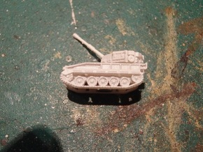 British FV 433 Abbot 105mm SPG 1/285 / 6mm in Smooth Fine Detail Plastic
