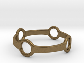 Four Ring Ring in Natural Bronze: 5 / 49