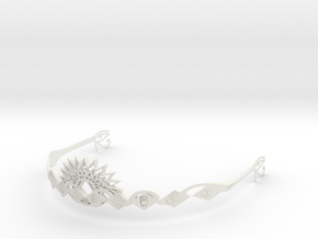 Ajna Crown Masculine in White Strong & Flexible