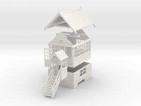 NS71 - Generic NSR Signal box in White Strong & Flexible
