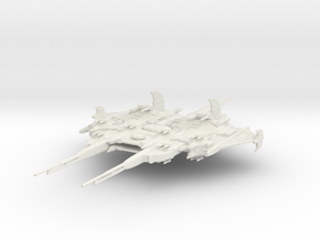 CR Assault Cruiser in White Strong & Flexible