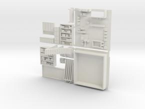 Al's General Store Version #1 in White Natural Versatile Plastic