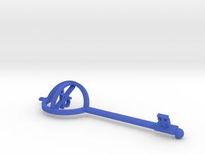Key Of Truth in Blue Processed Versatile Plastic