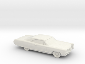 1/87 1966 Pontiac Bonneville Coupe in White Strong & Flexible