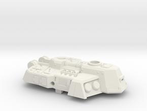 Rockdriller Guardian Turret in White Natural Versatile Plastic