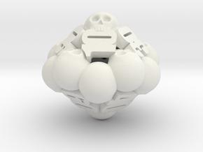 Ossuary Decader Die in White Natural Versatile Plastic