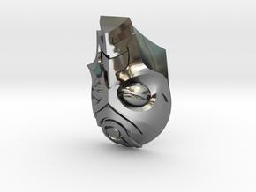 FOD-04-Fantasy Mask MOTU in Fine Detail Polished Silver