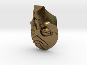 FOD-04-Fantasy Mask MOTU in Polished Bronze