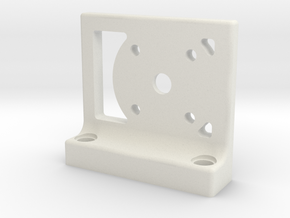 Rampage Bearing Encoder Mount in White Natural Versatile Plastic