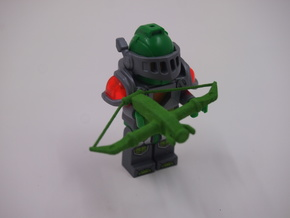 MiniFig NK Crossbow in Green Strong & Flexible Polished