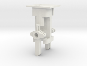 Signal Mech - 4 Arm in White Natural Versatile Plastic