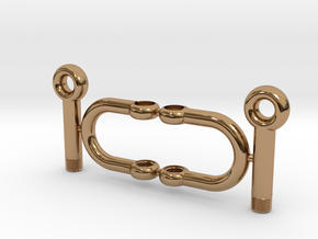 Jewelry-Shackles-M5 in Polished Brass